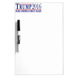Trump 2016 make America Great Again Dry Erase Board