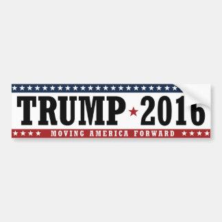 Trump 2016 Moving America Forward Bumper -.png Bumper Sticker