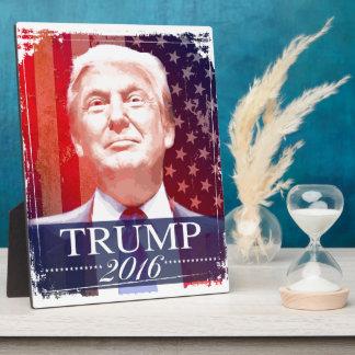 Trump 2016 plaque