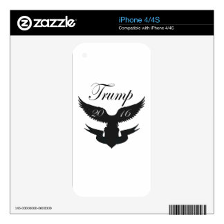 Trump 2016 Presidential campaign iPhone 4 Skins