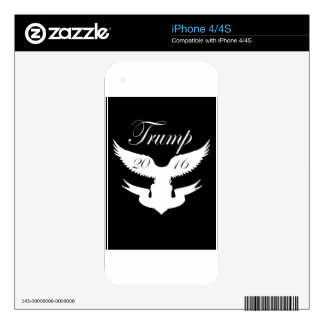 Trump 2016 Presidential campaign Skin For The iPhone 4