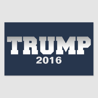 Trump 2016 rectangular sticker