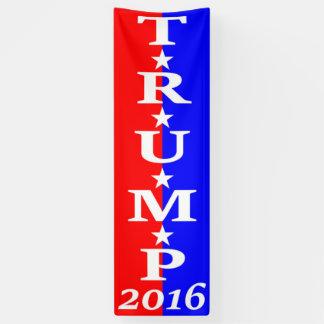 TRUMP 2016 - Red, White & Blue Banner