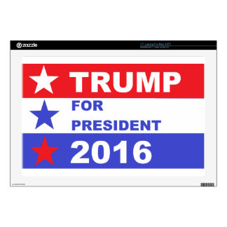 Trump 2016 decal for laptop