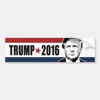 Trump 2016 Star Red White and Blue Bumper - copy.p Car Bumper Sticker
