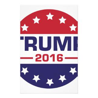 Trump 2016 stationery
