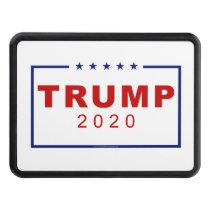 Trump 2020 Classic Rectangle Logo Hitch Cover