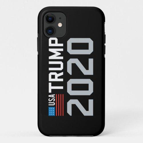 Trump 2020 for president USA flag CHOOSE UR COLOR Phone Case