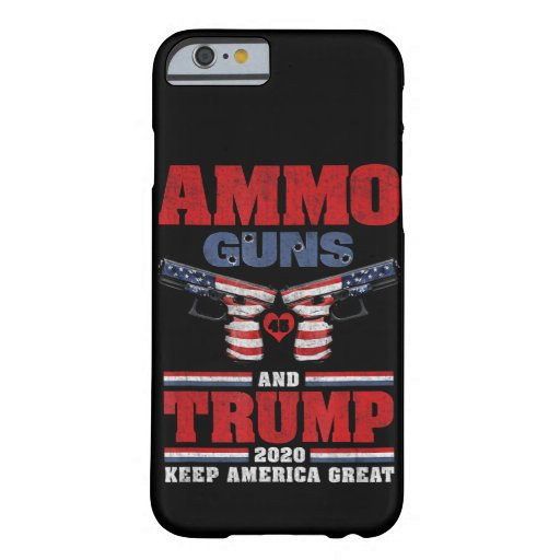 Trump 2020 Keep America Great Barely There iPhone 6 Case
