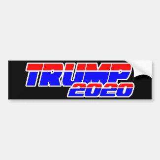 TRUMP 2020 - LET'S MAKE AMERICA EVEN GREATER! BUMPER STICKER