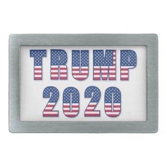 Trump 2020 rectangular belt buckle
