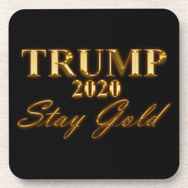 USA Themed TRUMP 2020 - Stay Gold Coaster