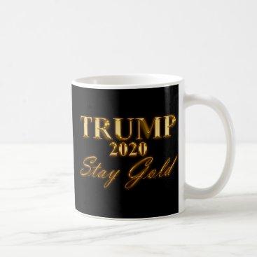 USA Themed TRUMP 2020 - Stay Gold Coffee Mug