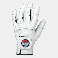TRUMP 2020 White Golf Glove