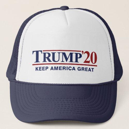Trump 20 Keep America Great Trucker Hat