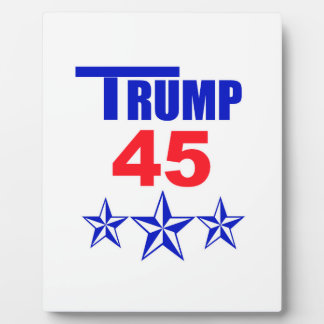 Trump 45 plaque