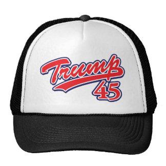 Trump-45-RED Trucker Hat