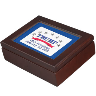 Trump 45th President Memory Box