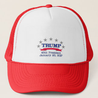 Trump 45th President Trucker Hat