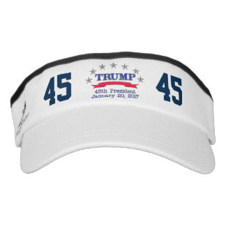 Trump 45th President Visor
