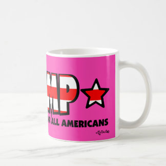 Trump! A Better America for All! PINK MUG