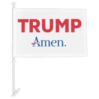 Trump Amen Car Flag
