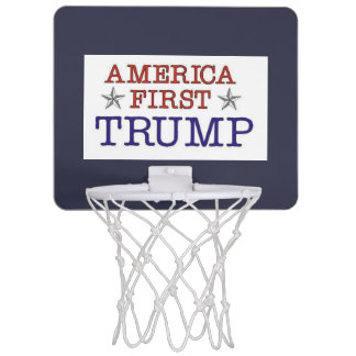 Trump America First Mini Basketball Hoop