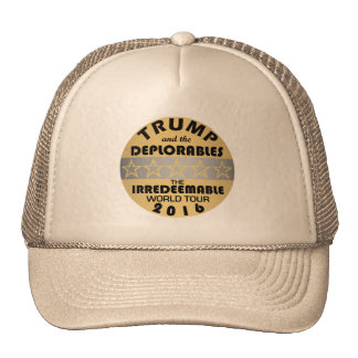 Trump And The Deplorables Change Lettering Color Trucker Hat