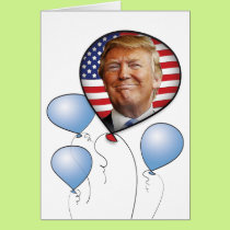 Trump Birthday Card