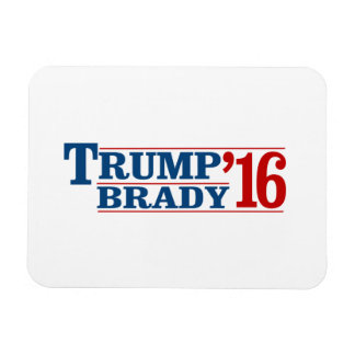 Trump Brady '16 Rectangular Photo Magnet