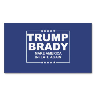 Trump Brady 2016 Magnetic Business Card