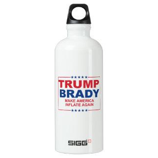 Trump Brady 2016: Make America Inflate Again Aluminum Water Bottle