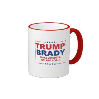 Trump Brady 2016: Make America Inflate Again Ringer Mug