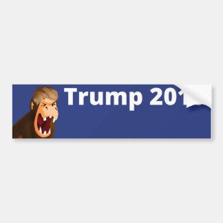 Trump Bump Three Car Bumper Sticker