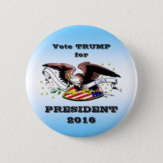 Trump Campaign Button 2016-3, By AntsAfire