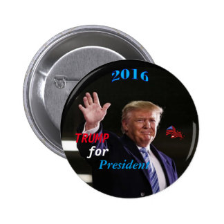 Trump Campaign Button, By AntsAfire Pinback Button