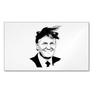 Trump Comb Over Magnetic Business Cards (Pack Of 25)