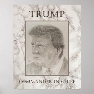 Trump, Commander in Chief Poster