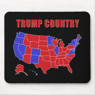 Trump Country Mouse Pad