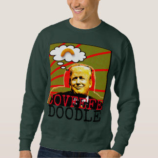 Trump Covfefe Doodle Ugly Christmas Sweater