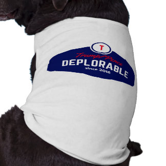 trump deplorable doggie shirt