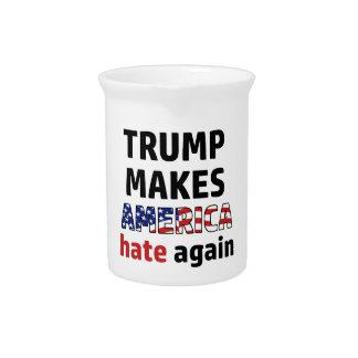 Trump design drink pitcher
