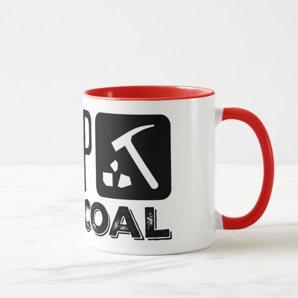 Trump Digs Coal - Trump 2020 Mug
