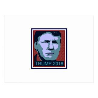 Trump Donald president best Postcard