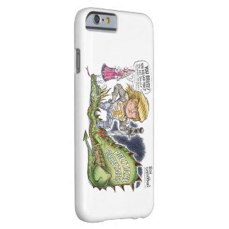 Trump Dragon Slayer iPhone 6, Barely There Barely There iPhone 6 Case