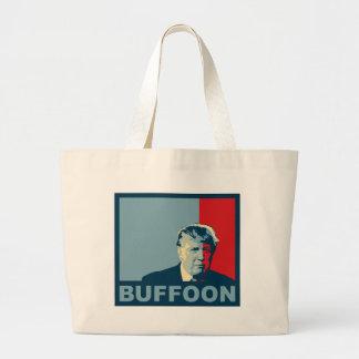 Trump/Drumpf: Buffoon (Hope colors) Large Tote Bag
