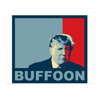 Trump/Drumpf: Buffoon (Hope colors) Postcard