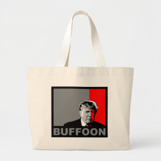 Trump/Drumpf: Buffoon Large Tote Bag