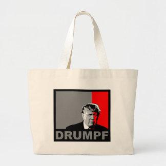 Trump = Drumpf Large Tote Bag
