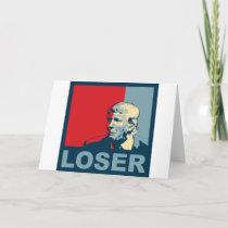 Trump/Drumpf: Loser (Hope colors) Card